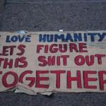 Occupy Wall Street. New York City. Zuccotti Park. 12 Day. Thursday, September 29, 2011.