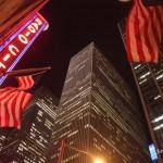 1/27/2012 - Radio City Music Hall and skyscrapers in Manhattan, New York City - Rascacielos en la Ciudad de Nueva York. Photo by Javier Soriano/www.JavierSoriano.com