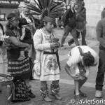 Indígenas en Nueva York recuerdan a los pueblos nativos del continente.