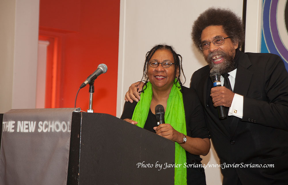 10/8/2014. 4:30pm-6pm. A Public Dialogue Between bell hooks & Cornel West.