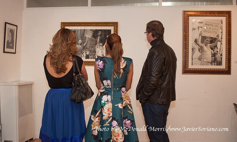 """Un éxito la inauguración de mi exposición de fotografía: """"Pasado, Presente y Futuro""""."""
