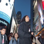 Hundreds of students and other protesters staged walkouts, die-ins and sit-ins in NYC to demand justice for Mike Brown.