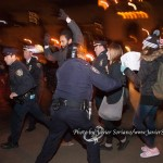 """Jose LaSalle, said on Facebook, """"To have any pro-cop rally when the people has been denied justice in the case of Eric Garner and Mike Brown is an attack on all those that has been victimize by the militarize police department. I believe that everyone has the right to express their belief in any manner they want, but not on the blood of our stolen love ones. Police terrorizes people around the world and murder people with impunity. We the people must send police and those that support killer cops a message! We will not be silent or silenced."""""""