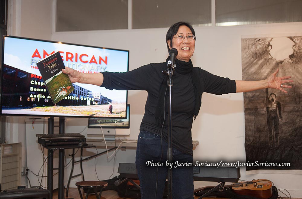 1/23/2015 NYC - Fay Chiang celebrating her 63rd birthday. Photo by Javier Soriano/www.JavierSoriano.com