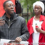 5/21/2015 - Rally at the African Burial Ground National Monument and march to City Hall, New York City. Photo by Javier Soriano/http://www.JavierSoriano.com/
