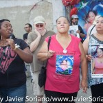 "On Sunday, June 21, 2015, Anita Neal, mother of 37 year old Kyam Livingston, and a group of New Yorkers gathered in Flatbush, Brooklyn to demand justice for Kyam Livingston. Kyam Livingston, a 37 year old mom, died in Brooklyn Central Bookings on July 21, 2013, after crying out in pain for 7 hours only to have her pleas for medical attention ignored. No one has been held accountable. On June 21, it was also Father's Day and Anita Neal's birthday. They celebrated with delicious food. Their next rally will be on July 21, 2015, at 120 schemerhorn at 5:30pm. ""It's Kyam Livingston 2nd year anniversary since the they (NYPD) left her to die in Brooklyn Central Bookings,"" says her mother Anita. Photo by Javier Soriano/http://www.JavierSoriano.com/"