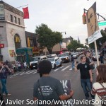 On Monday, July 6, 2015, People's Monday activists traveled to Flatbush, Brooklyn to demand justice for Tony Terrell Robinson. They gathered at the corner of Church Ave and Flatbush Ave, then they walked to Nostrand Ave and shut down Church Ave and Nostrand Ave. After shutting down these avenues, they walked to the NYPD 71st Precinct at 421 Empire Boulevard (corner of New York Ave), Brooklyn, NY 11225. Photo by Javier Soriano/http://www.JavierSoriano.com/