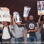 """On Tuesday, August 25. 2015, a group of activist gathered at the Barclays Center in Brooklyn, """"to collectively mourn and speak out against the extreme violence that our Black trans and gender non conforming women, girls & femmes face on a daily basis. With five trans* women that we know of being killed in the past week alone, we recognize that we are in a state of emergency and that the time to speak our grief, rage and love to power is now!,"""" they said on Facebook. Photo by Javier Soriano/http://www.JavierSoriano.com/"""