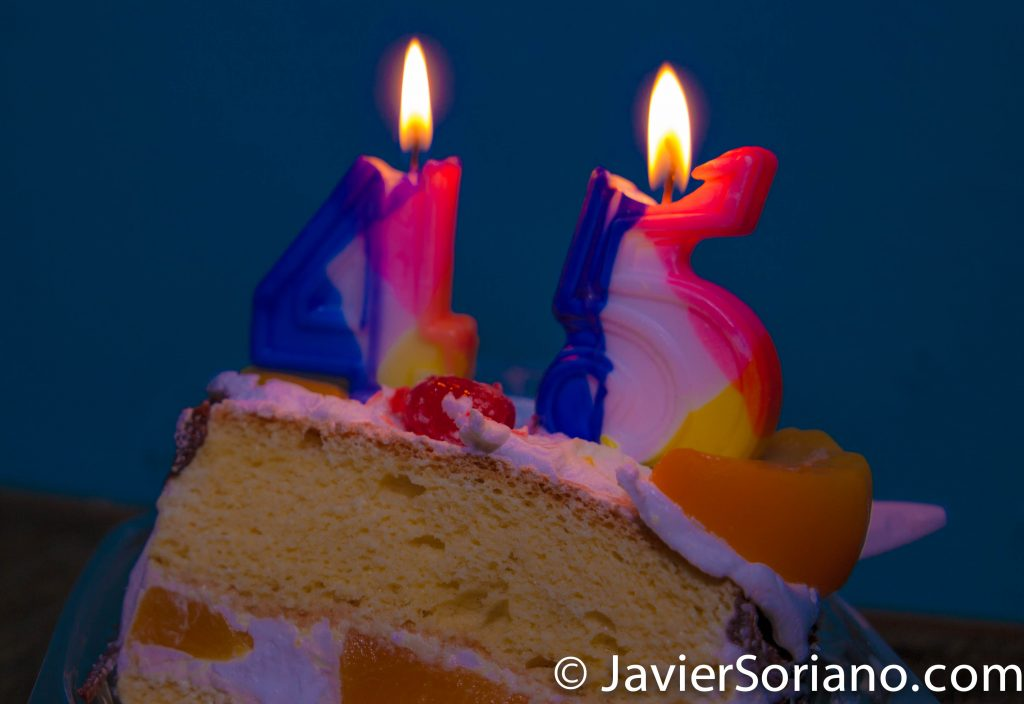 Happy 45th Birthday to somebody very, very special! Photo by Javier Soriano/www.JavierSoriano.com