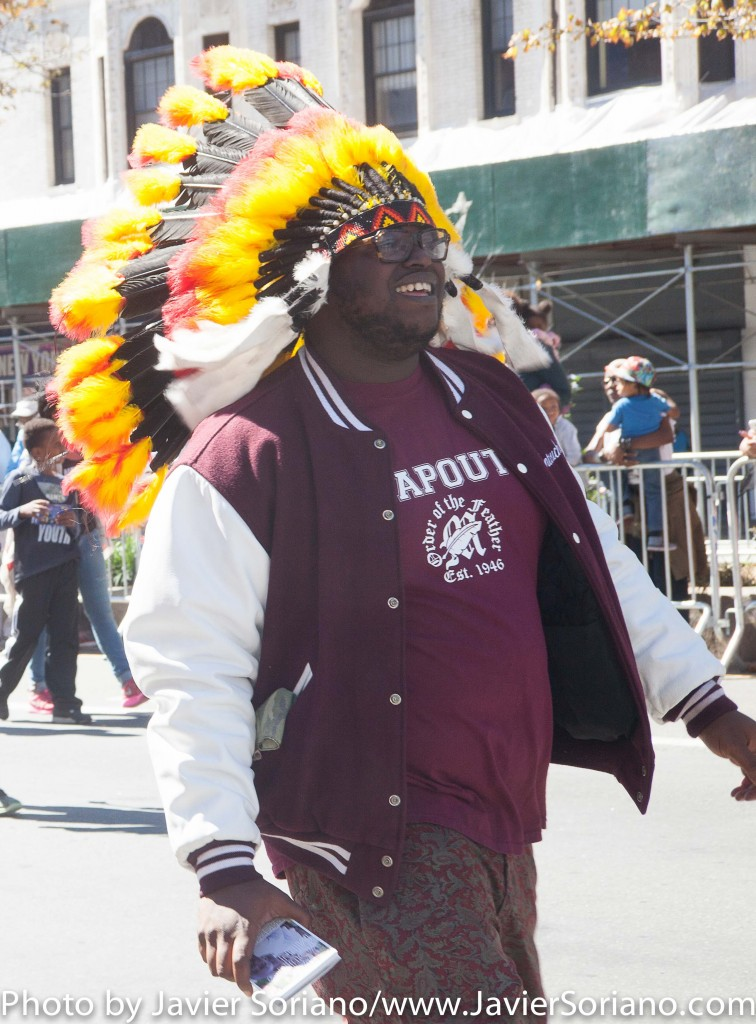 On Sunday, September 20, 2015, New Yorkers celebrated the 46th Annual African American Day Parade in Harlem, New York City. Photo by Javier Soriano/http://www.JavierSoriano.com/