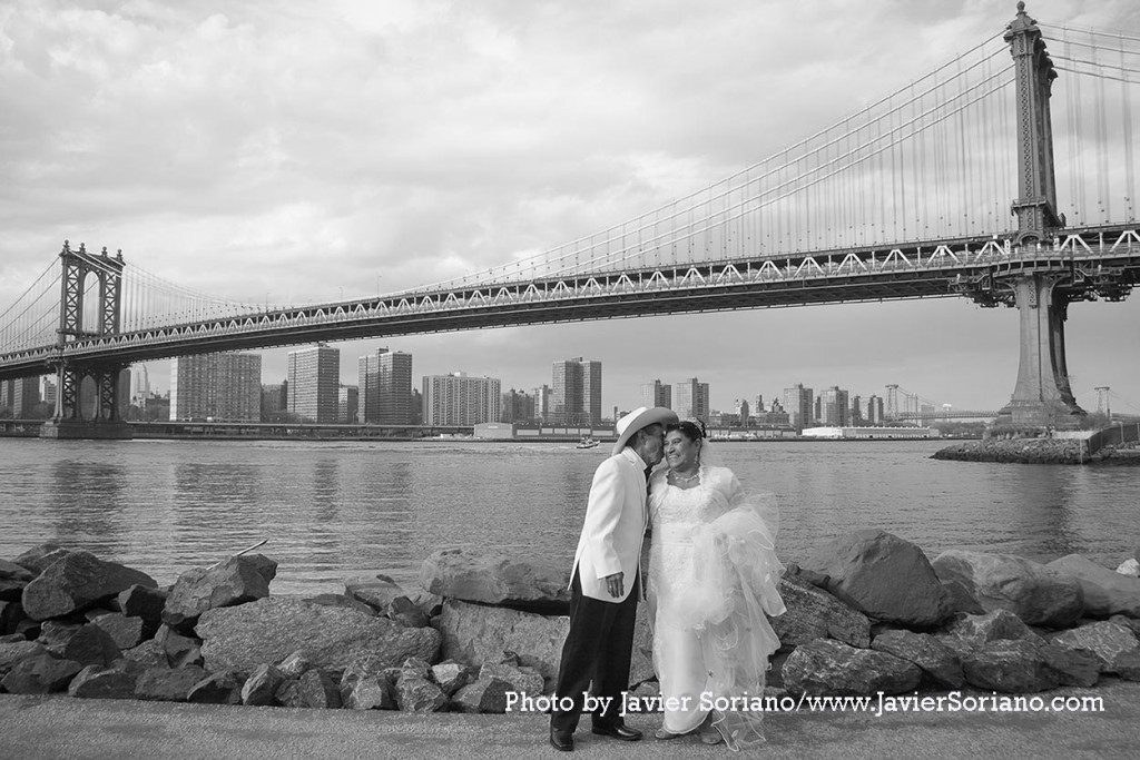 "Friday, September 18, 2015. New York City – I made this short wedding video for the 2015 ""B&H Film Makers Master Class"" in Manhattan, NYC. I applied to the Master class. I am making a documentary about Phoenix Nastasha Russell. It would be great to learn how to make a great documentary. Photo by Javier Soriano/http://www.JavierSoriano.com/"