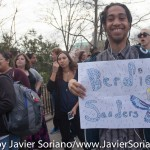 """NEW YORK – """"U.S. Sen. Bernie Sanders kicked off his campaign for the New York Democratic presidential primary with a massive show of support by some 18,500 supporters at a twilight rally Thursday in the South Bronx."""" https://berniesanders.com/enough-enough-sanders-tells-18500-bronx-rally/"""