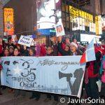 12/25/2016 NYC - Parranda to FREE Oscar López Rivera. Photo by Javier Soriano/www.JavierSoriano.com