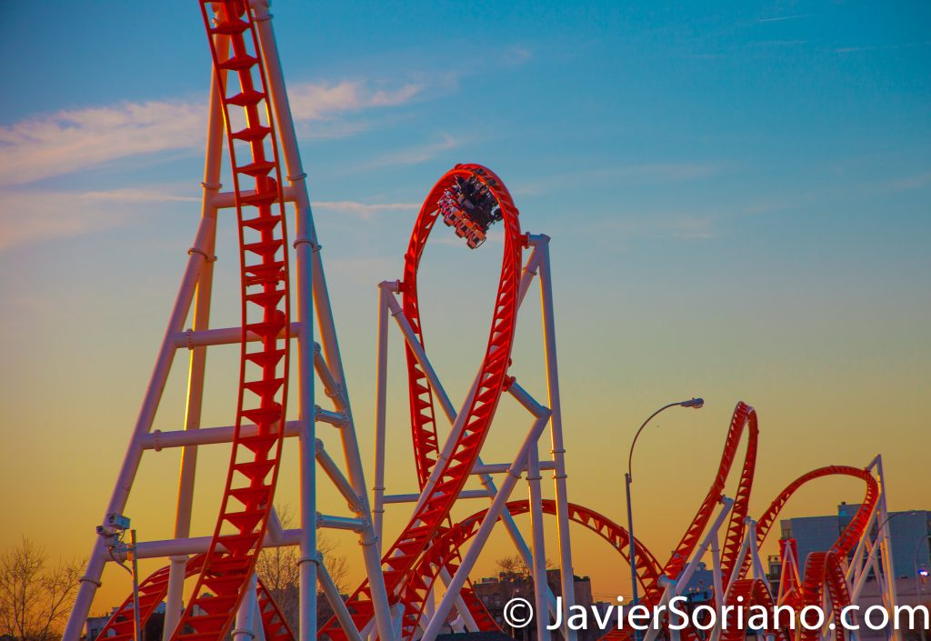 Luna Park in Coney Island. Brooklyn, NYC. Photo by Javier Soriano/www.JavierSoriano.com