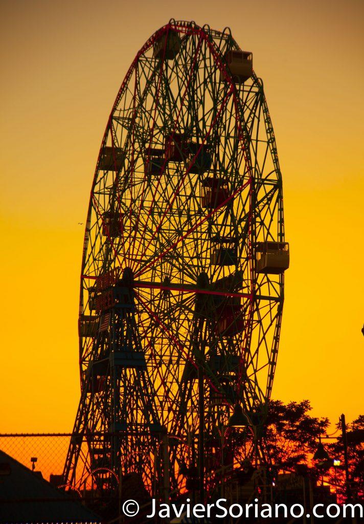Luna Park in Coney Island. Brooklyn, NYC. Photo by Javier Soriano/www.JavierSoriano.com