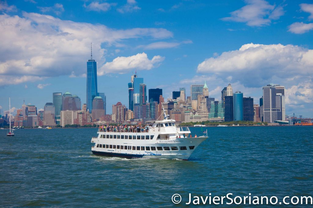 8/03/2016 NYC - Downtown Manhattan - El Bajo Manhattan. Photo by Javier Soriano/www.JavierSoriano.com