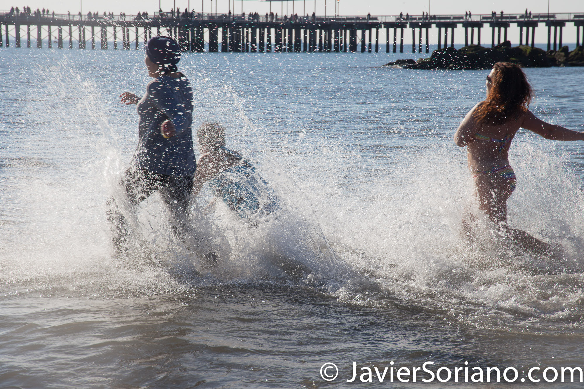 1/1/2017 NYC - 113th Annual Coney Island Polar Bear New Years Day Plunge. Photo by Javier Soriano/www.JavierSoriano.com