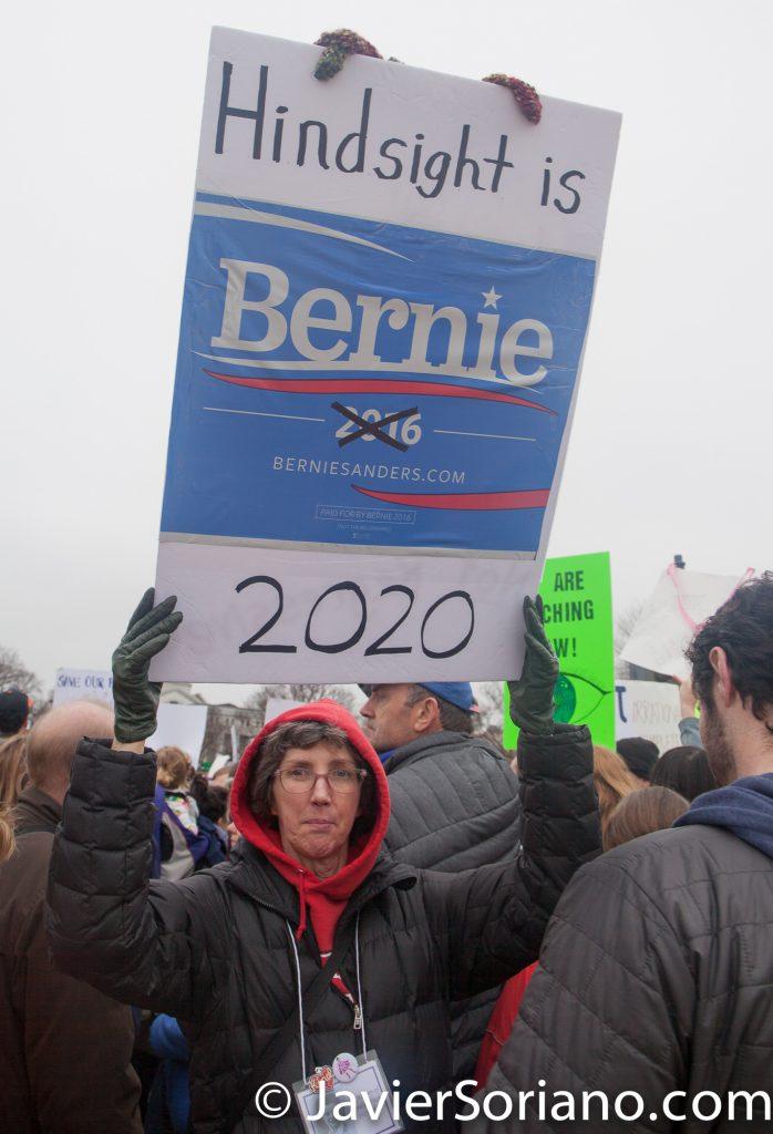 1/21/2017 - Women's March on Washington D.C. Photo by Javier Soriano/www.JavierSoriano.com