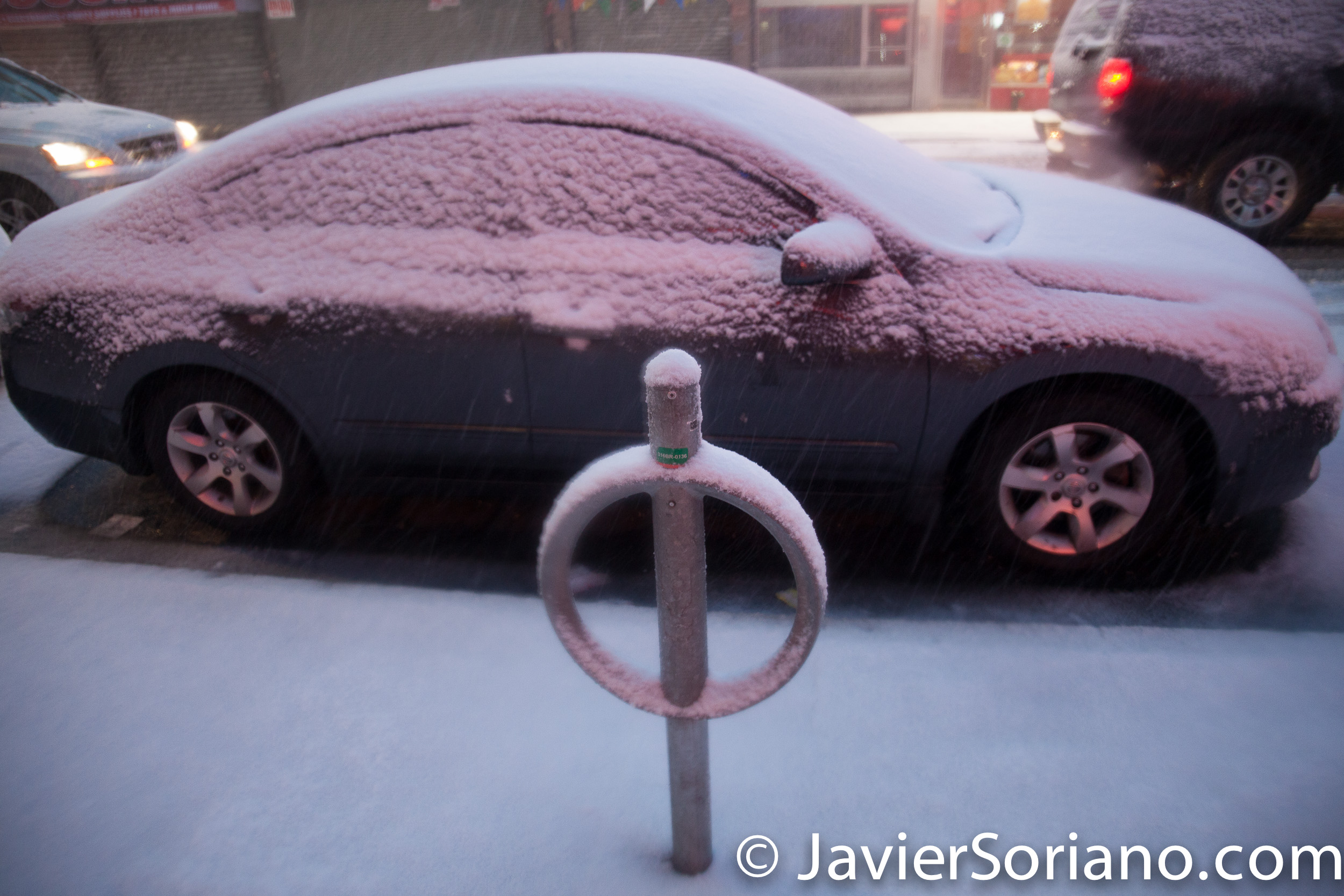 2/9/2017 NYC - Winter storm Niko in Brooklyn. Photo by Javier Soriano/www.JavierSoriano.com