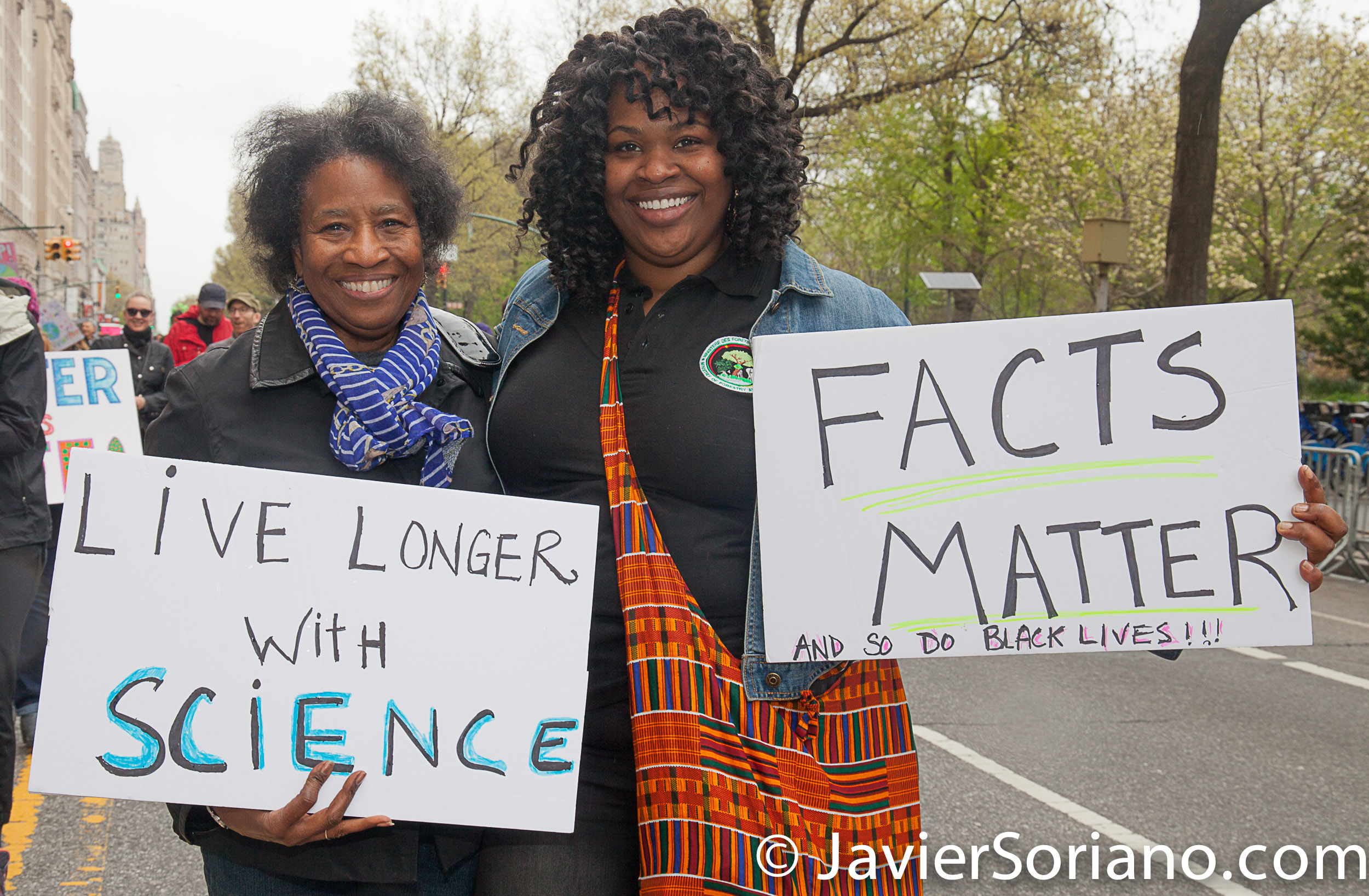 4/22/2017 NYC - March for science. Photo by Javier Soriano/www.JavierSoriano.com