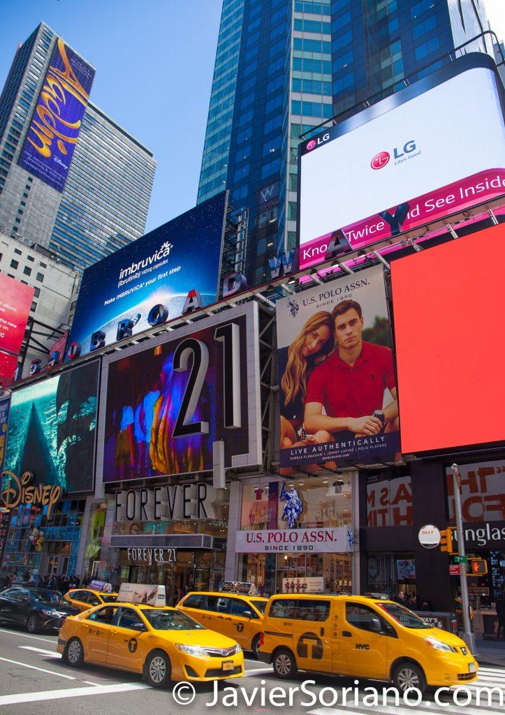 5/15/2017 Times Square, New York City. Photo by Javier Soriano/www.JavierSoriano.com