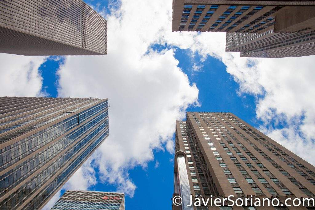 5/15/2017 Skyscrapers in Manhattan, NYC. Photo by Javier Soriano/www.JavierSoriano.com