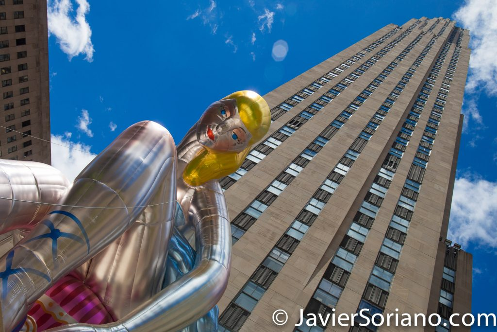 5/15/2017 The Rockefeller Center in NYC. Photo by Javier Soriano/www.JavierSoriano.com