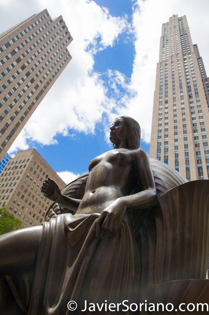 5/15/2017 The Rockefeller Center in NYC. Photo by Javier Soriano/www.JavierSoriano.com
