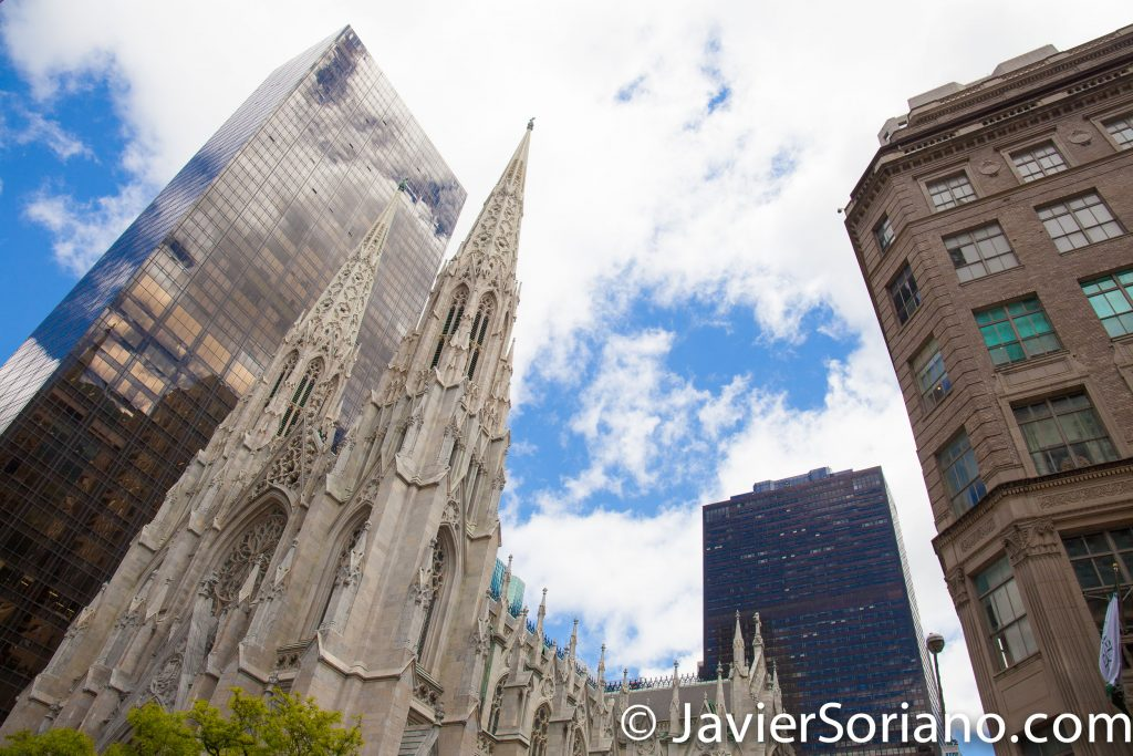 5/15/2017 St. Patrick's Cathedral in NYC. Photo by Javier Soriano/www.JavierSoriano.com