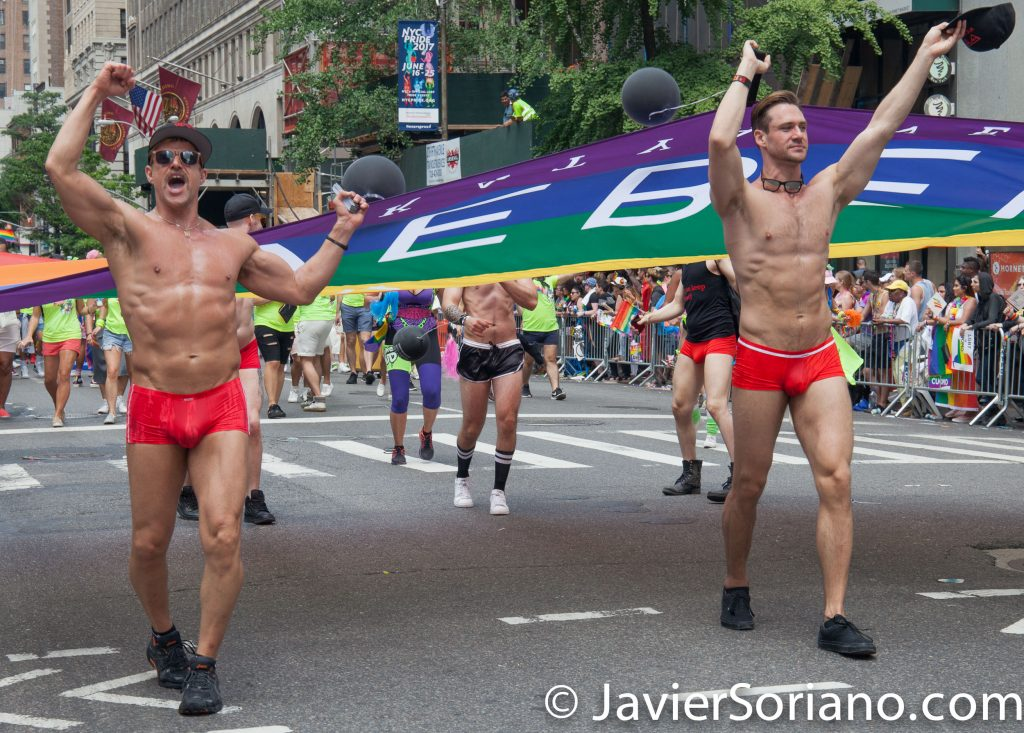6/25/2017 Manhattan, NYC - Pride March 2017.  Photo by Javier Soriano/www.JavierSoriano.com