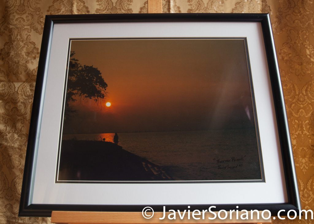 New Orleans. Louisiana. Original framed photograph by Javier Soriano. Size: 20x24.