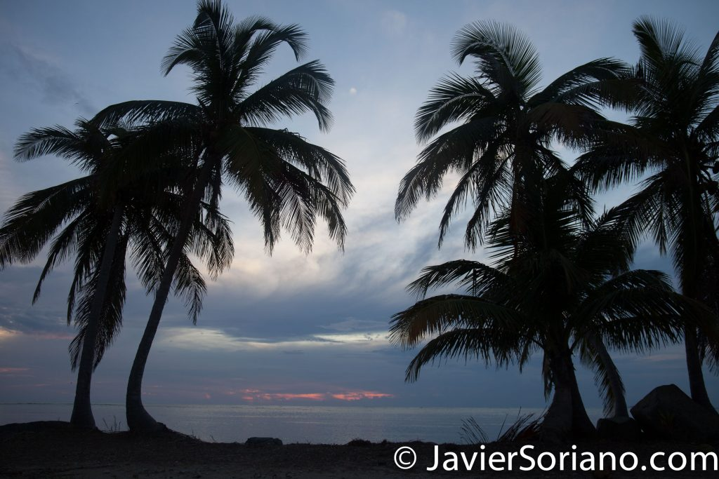 9/15/2017. Melia Coco Beach Resort. Rio Grande. Puerto Rico.  I did not see a colorful sunrise. Maybe tomorrow? It was still a beautiful morning.   Today is a very special day. A beautiful couple is having their wedding today. We traveled from New York City to Puerto Rico for this special occasion.   Photo by Javier Soriano/www.JavierSoriano.com
