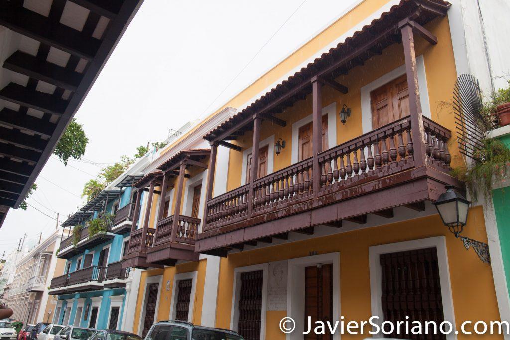 """9/14/2017. Old San Juan. Puerto Rico.  """"En esta casa nació el 28 de Noviembre de 1843 Manuel Gregorio Tavarez. Compositor. Padre de la música Puertorriqueña.""""  Photo by Javier Soriano/www.JavierSoriano.com"""