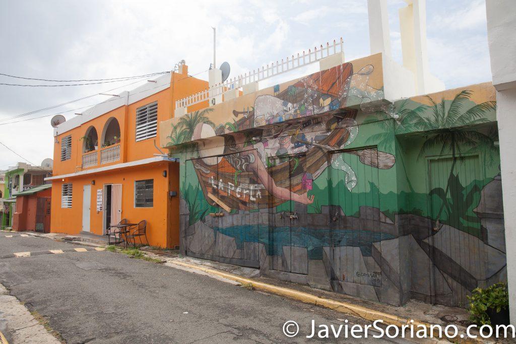 9/14/2017. La Perla, Old San Juan. Puerto Rico.  Photo by Javier Soriano/www.JavierSoriano.com