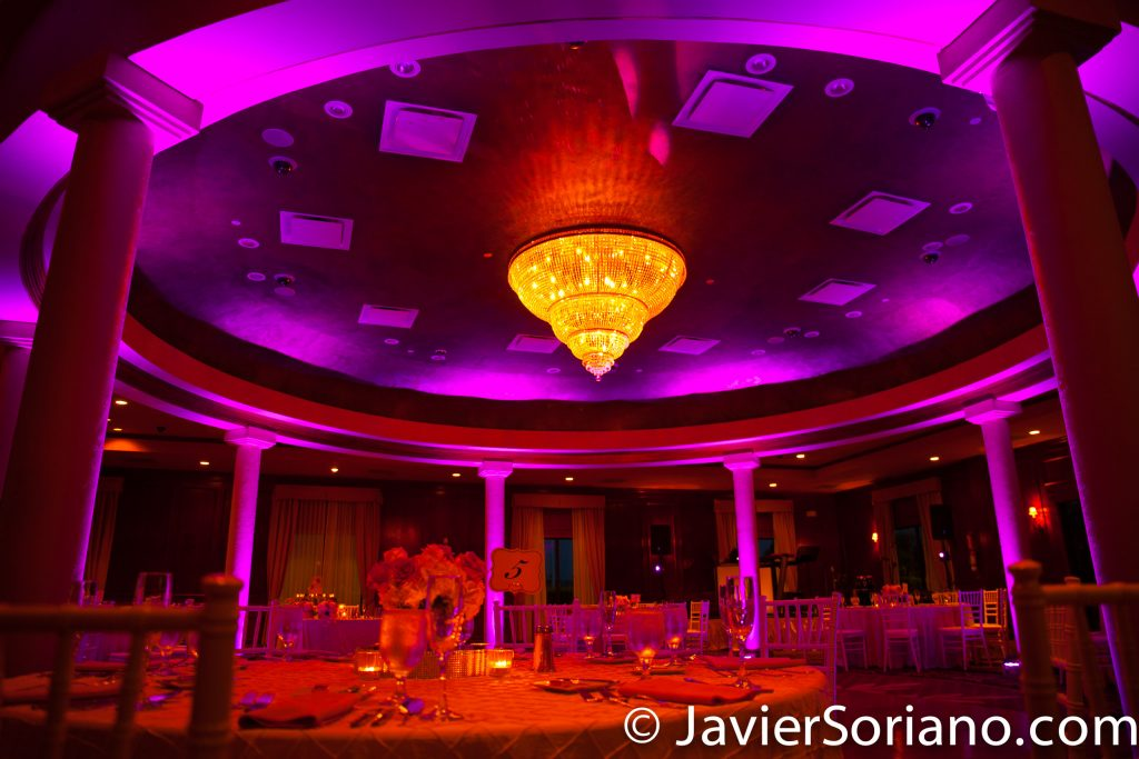 9/15/2017. Melia Coco Beach Resort. Rio Grande. Puerto Rico.  The hall is beautiful. Waiting for the newly-wed couple and guests to arrive for the reception.  Are you having your wedding in NYC, Puerto Rico, Trinidad & Tobago, Mexico, etc.? I can be your photographer or videographer. I live in New York City. I can travel.  Photo by Javier Soriano/www.JavierSoriano.com
