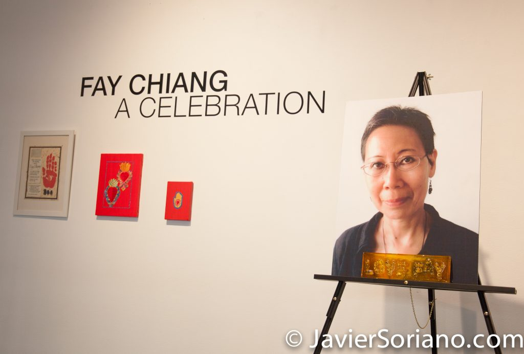"Friday, November 3, 2017. One Art Space. Manhattan, New York City - ""Fay Chiang. A celebration.""  Photo by Javier Soriano/www.JavierSoriano.com"