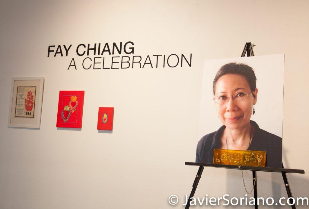 "Friday, November 3, 2017. One Art Space. Manhattan, New York City - ""Fay Chiang. A celebration."" Photo by Javier Soriano/www.JavierSoriano.com"