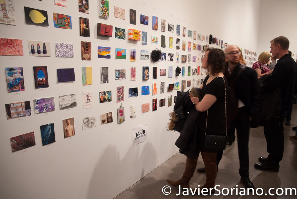 1/19/2018. Manhattan, New York City - 20th Annual Postcards From the Edge. Hosted by Visual AIDS at Gallery 524 524 West 26th Street.   Photo by Javier Soriano/www.JavierSoriano.com