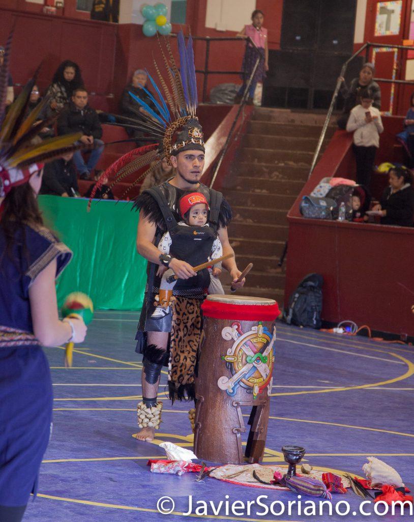 Domingo, 18 de Marzo, 2018. Ciudad de Nueva York – XVI Festival Folklórico Mexicano.   Grupo: Cetiliztli Nauhcampa Quetzalcoatl in Ixachitlan  Foto por Javier Soriano/www.JavierSoriano.com