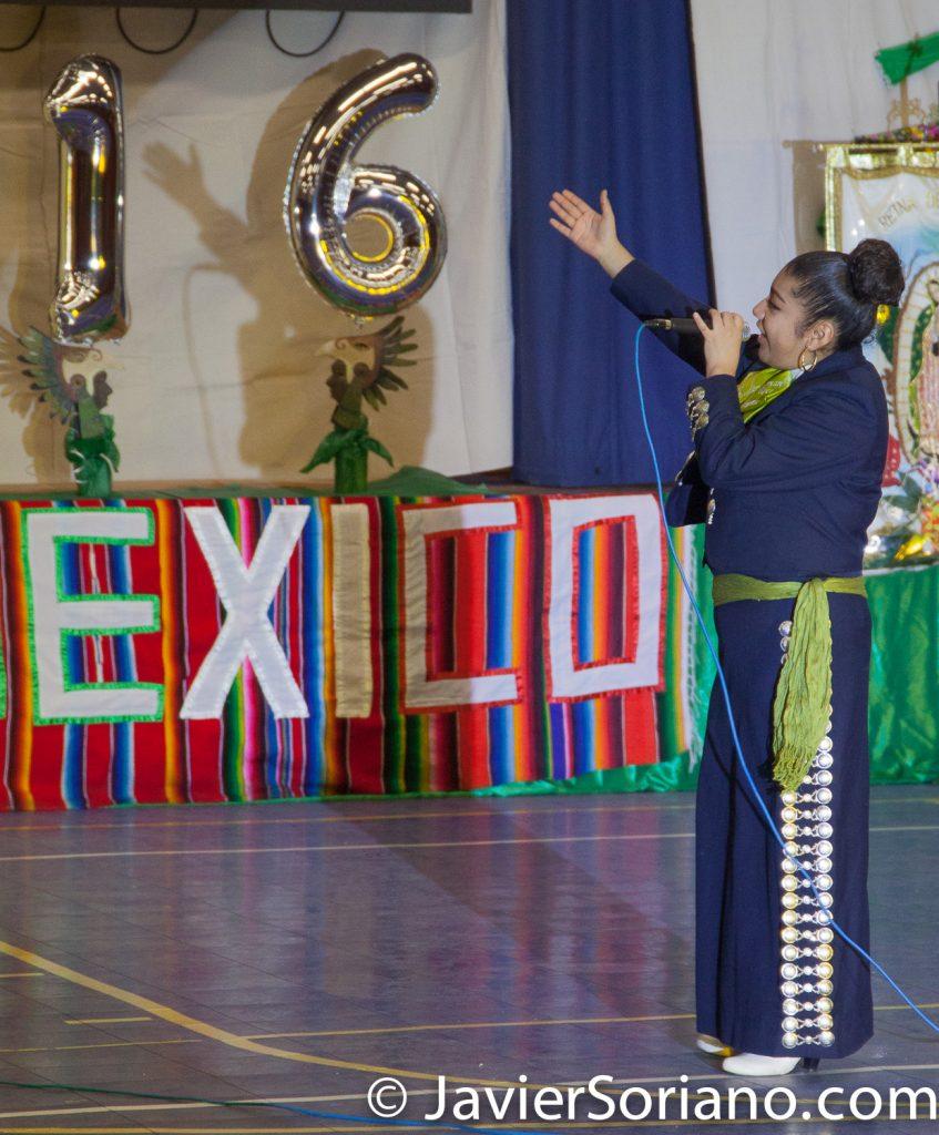 Domingo, 18 de Marzo, 2018. Ciudad de Nueva York – XVI Festival Folklórico Mexicano.   Cantante: Ximena roca.  Foto por Javier Soriano/www.JavierSoriano.com