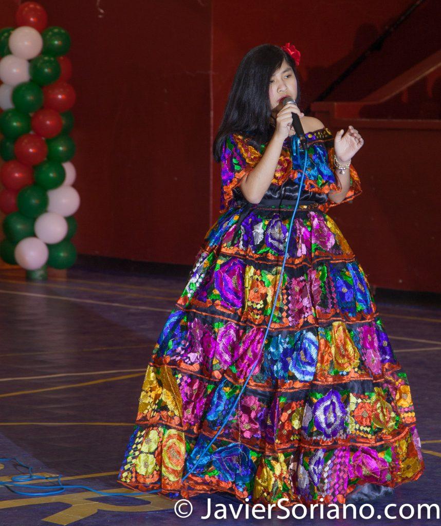 Domingo, 18 de Marzo, 2018. Ciudad de Nueva York – XVI Festival Folklórico Mexicano.   Cantante: Diana Rojas.  Foto por Javier Soriano/www.JavierSoriano.com