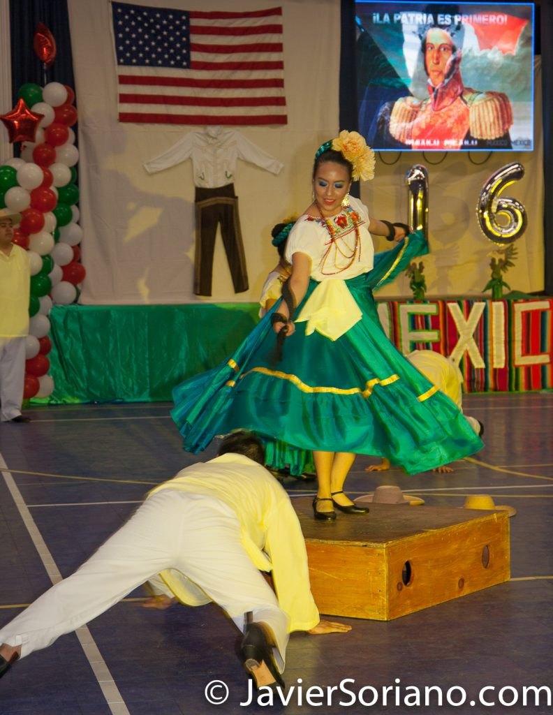 Domingo, 18 de Marzo, 2018. Ciudad de Nueva York – XVI Festival Folklórico Mexicano.    Ballet Nuestra Señora del Refugio.  Foto por Javier Soriano/www.JavierSoriano.com