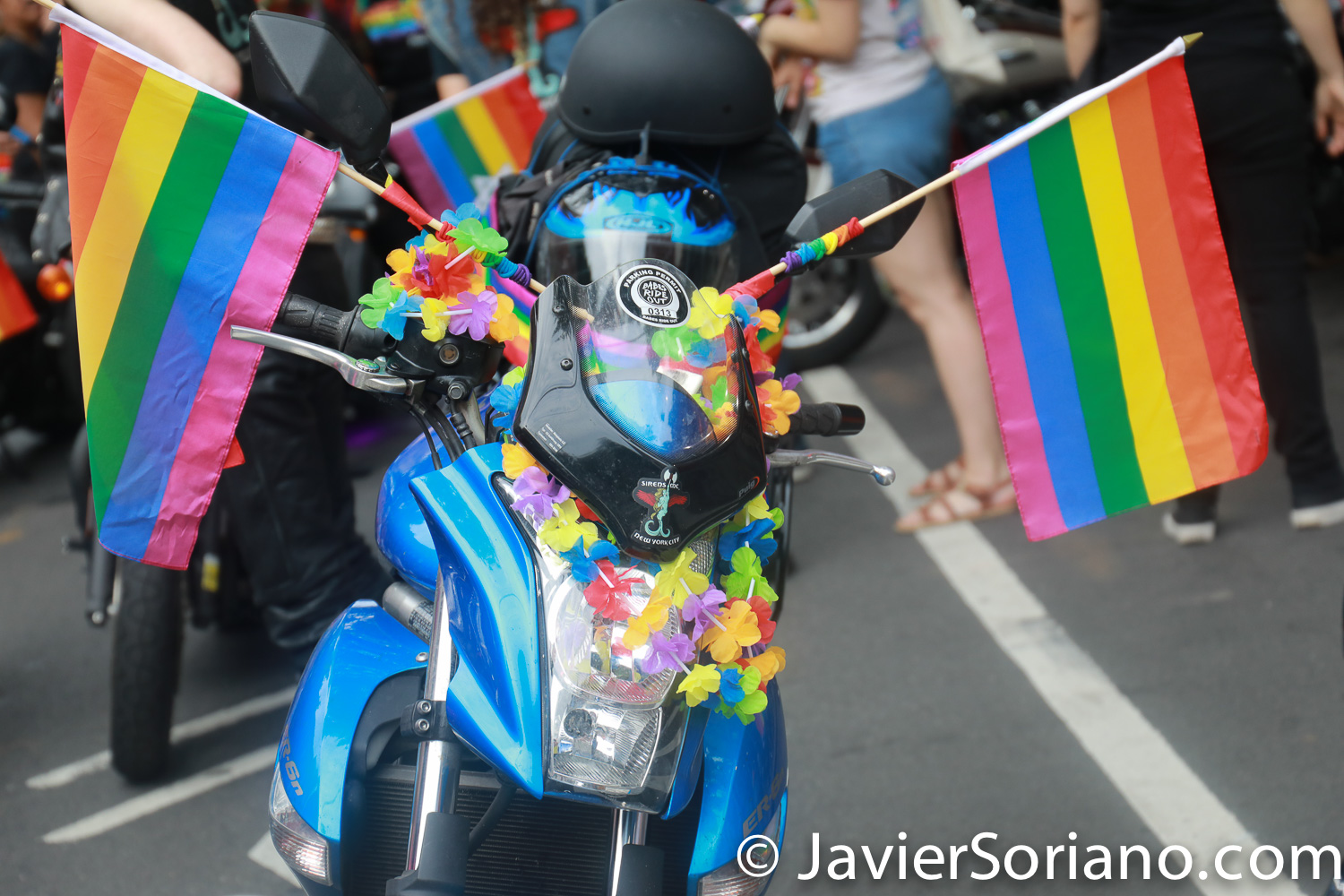 6/9/2018 Brooklyn, New York City - Brooklyn Pride Parade. Photo by Javier Soriano/www.JavierSoriano.com