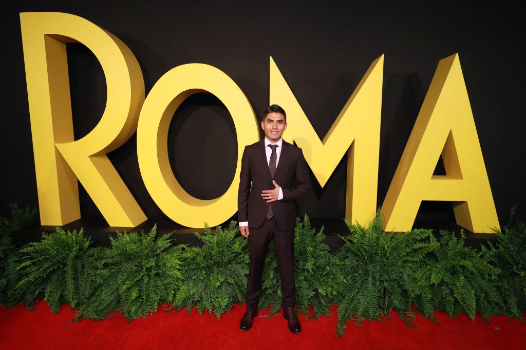 Actor Jorge Antonio Guerrero. Roma (2018 film).