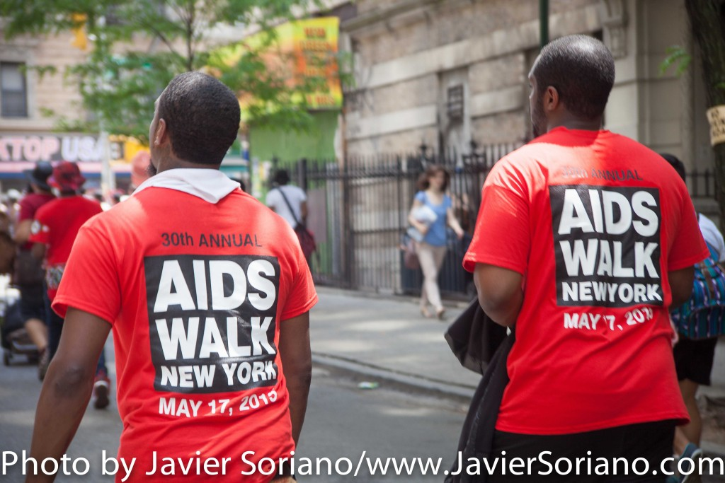 5/17/2015 Manhattan, NYC - 30th annual AIDS Walk New York. Photo by Javier Soriano/http://www.JavierSoriano.com/