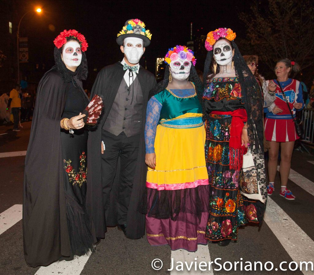 10/31/2016 NYC - 43rd Annual Halloween Parade. Photo by Javier Soriano/http://www.JavierSoriano.com/