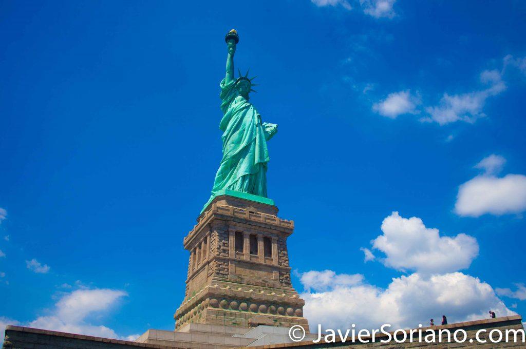 Statue of Liberty in NYC. Estatua de la Libertad en la Ciudad de Nueva York. Photo by Javier Soriano/www.JavierSoriano.com