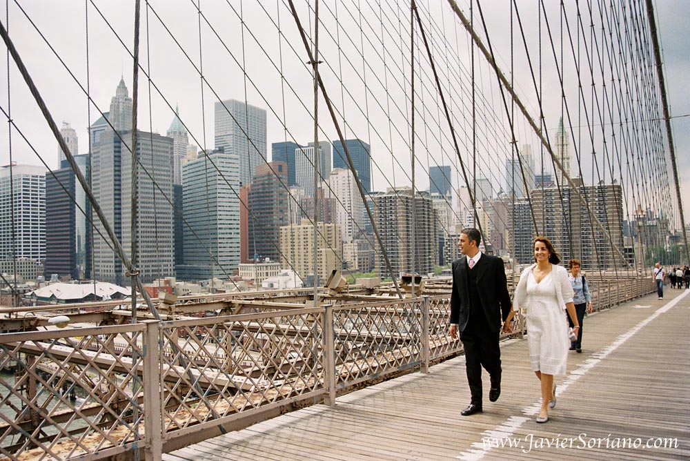 In 2011, a couple from Spain had their wedding in New York City. Photo by Javier Soriano/www.JavierSoriano.com