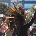 9 de Octubre, 2011 Manhattan, Ciudad de Nueva York - 4to evento anual en recuerdo de nuestros pueblos Indigenas. Foto por Javier Soriano/www.JavierSoriano.com