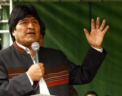 Evo Morales Ayma, expresidente de Bolivia.